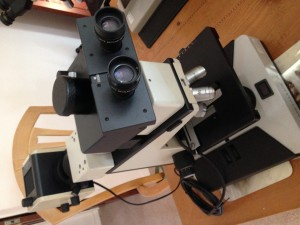 Leitz Metallurgical Microscope